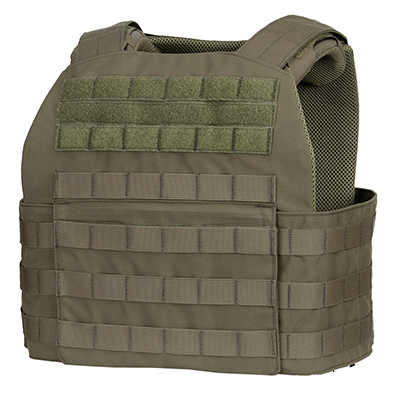 Fearless Plate Carrier MOLLE - Slight Angle